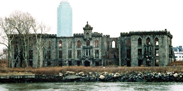 New York City, Roosevelt Island, Smallpox Hospital. Photo by Earnest B